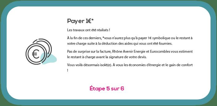 1 payer euro